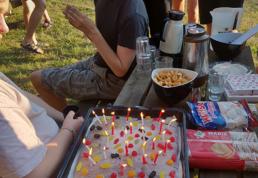 Fødselsdag på Ventilens Sommertur 2019