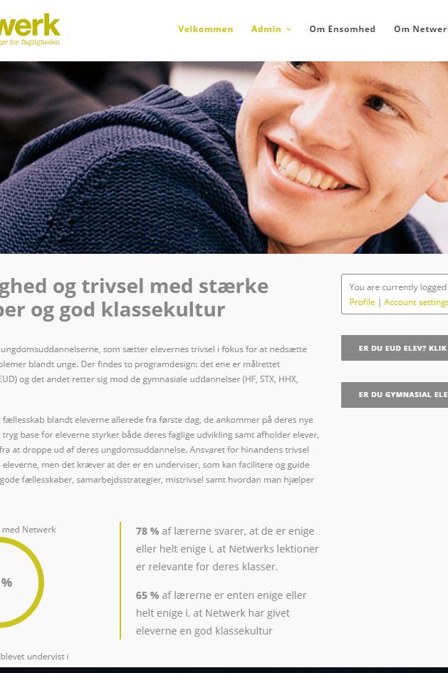 www.projektnetwerk.dk er blevet opdateret